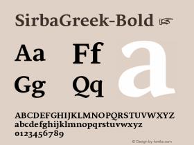 SirbaGreek-Bold