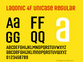 Laqonic 4F Unicase