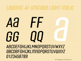 Laqonic 4F Unicase Light