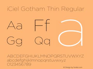 iCiel Gotham Thin