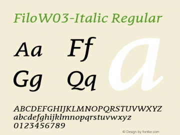 Filo-Italic