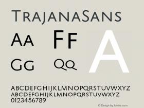 TrajanaSans