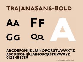 TrajanaSans-Bold
