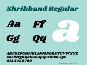 Shrikhand