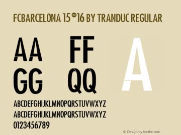 FCBarcelona 15-16 by TranDuc