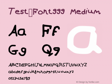 Test_Font999