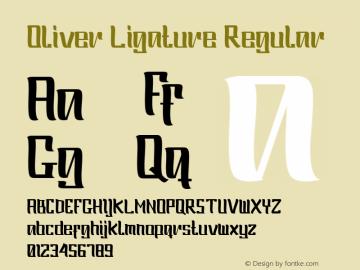 Oliver Ligature