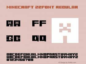 Minecraft z2font