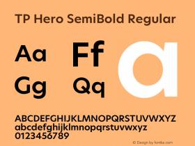 TP Hero SemiBold