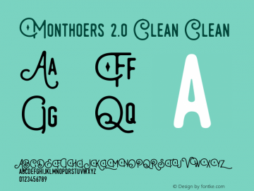 Monthoers Clean