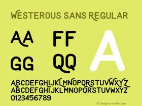 Westerous Sans