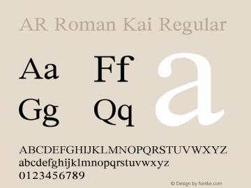 AR Roman Kai