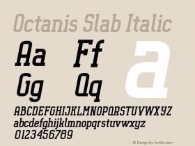 Octanis Slab