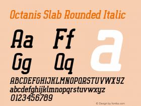 Octanis Slab Rounded