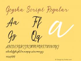Geysha Script