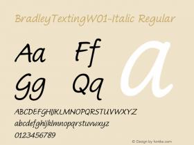 BradleyTexting-Italic