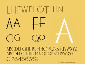 LHFWeloThin