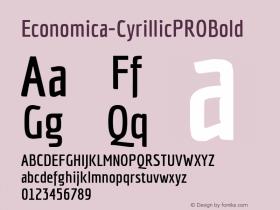 Economica-CyrillicPROBold