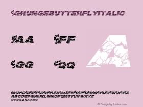 Grungebutterflyitalic