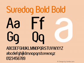 Suredog Bold