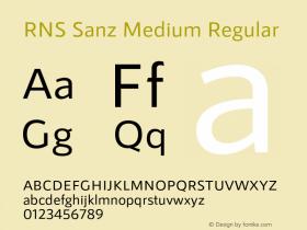 RNS Sanz Medium