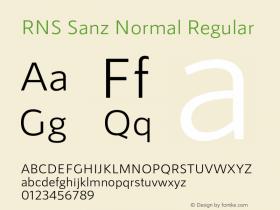 RNS Sanz Normal