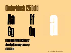 Cinderblock 125