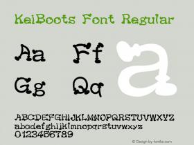 KeiBoots Font