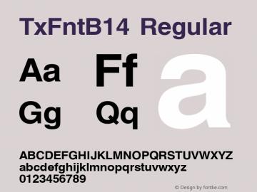 TxFntB14