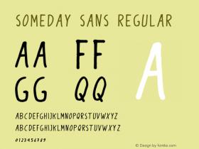 Someday Sans