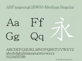 ARFangsongGB-Medium