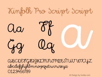 Kinfolk Pro Script