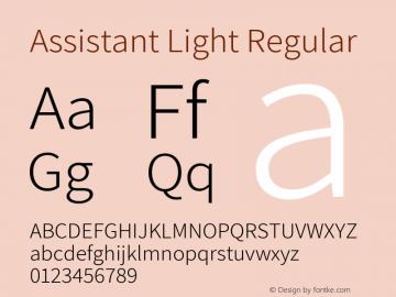 Assistant Light