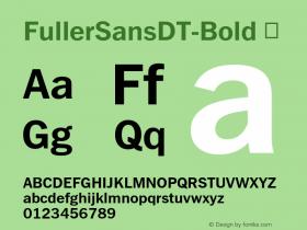 FullerSansDT-Bold
