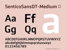 SenticoSansDT-Medium