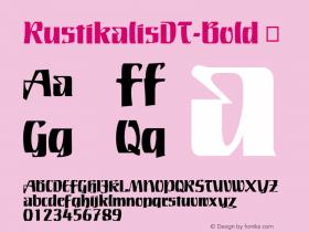RustikalisDT-Bold