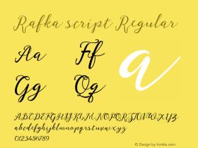 Rafka script