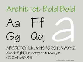 Architect-Bold