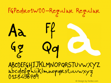 FGPedro1-Regular