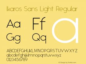 Ikaros Sans Light