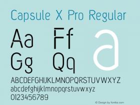 Capsule X Pro