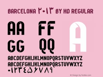 Barcelona 2013 By HD