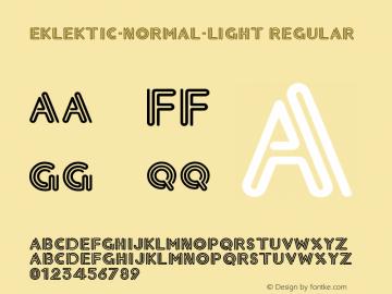 Eklektic-Normal-Light