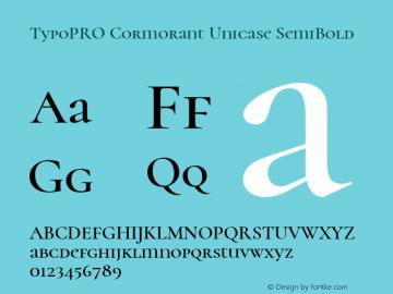 TypoPRO Cormorant Unicase