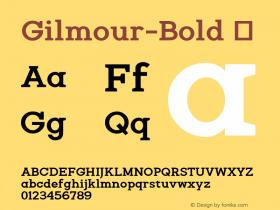 Gilmour-Bold