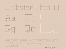 Dubster-Thin