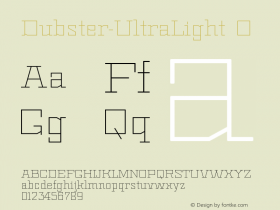 Dubster-UltraLight