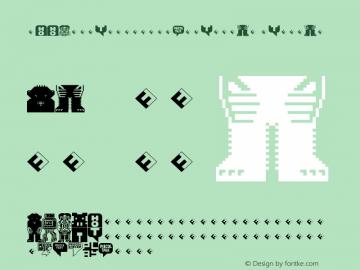 PEECOLTestPlusW95-Regular Regular Version 7.504 Font Sample