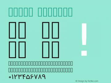 Vazir Regular Version 3.0; ttfautohint (v1.4.1.5-446e) Font Sample