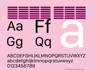 系统字体 常规体 12.0d5e3 Font Sample